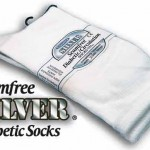 seamfree silver diabetic socks
