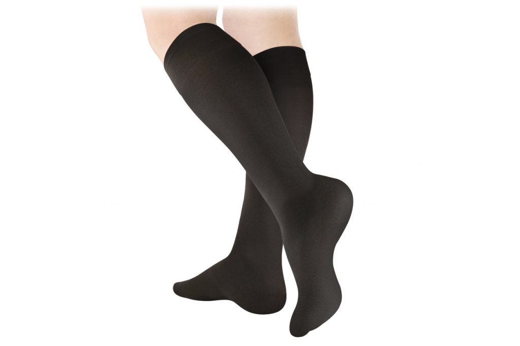 compression socks are one type of diabetic footwear